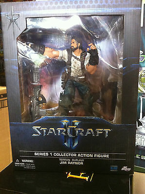 STARCRAFT II JIM RAYNOR ACTION Figure DC Direct TERRAN OUTLAW Serie 1 New!