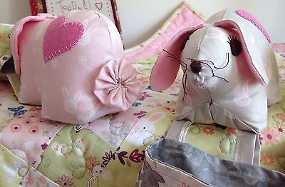 Bunny pin cushion thread catcher pattern