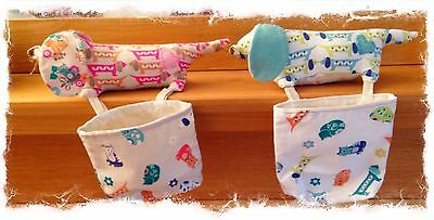 sausagedog pincushion/ thread catcherpattern