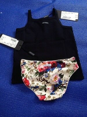 D&G 2 Years Vest And Bottoms  ***now free delivery****
