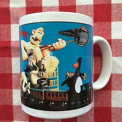 Vintage 1989 Wallace & Gromit Mug  -  Very Good Condition