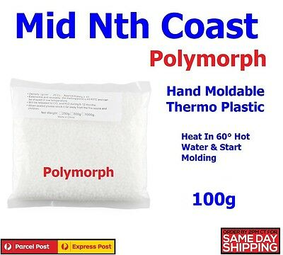 100g Polymorph Mouldable Thermoplastic Pellets, DIY Projects,Prototypes