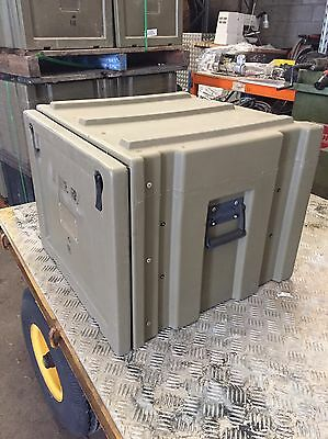 EX ARMY SPACECASE STORAGE BOX CONTAINER MILITARY TRIMCAST CAMPING 4x4 SPACE CASE