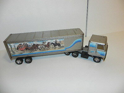 Ertl Smokey And The Bandit Semi Tractor Trailer 1:24 Made In Usa Rare Vhtf