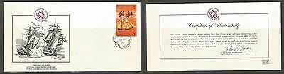 Turks & Caicos 1976 Ship. First Day Cover (FDC).