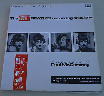 The Beatles:The Complete Beatles recording sessions 1988 Softcover