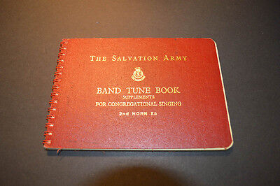 Salvation Army Band Tune Book 2nd Horn Bb 1954