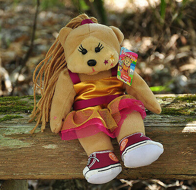 NEW Ariana the Dancing Bear - Beanie Kid Collectable