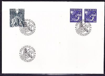 Sweden 1981 - Booklet Stamps & Railway First Day Cover - Unaddressed