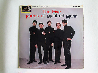 "To Clear - Manfred Mann - The Five Faces Of: 12""33 Mono Vinyl LP 1964-1st Issue"