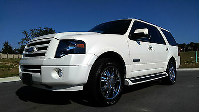 2007 Ford Expedition Limited Sport Utility 4-Door 2007 Ford Expedition Limited Navigation Rear Entertainment Sunroof Clean Carfax