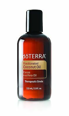 doTERRA Fractionated Coconut Oil 115ml Natural Carrier Massage Therapy Essential
