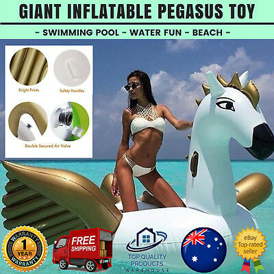 Giant Kids Inflatable Pool Toys Floatie Water Swimming Genuine Ride On 1 Pack