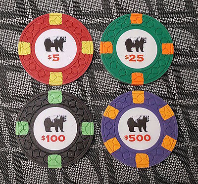 Rounders Movie Poker Chips Sample Set by ASM CPC not Paulson