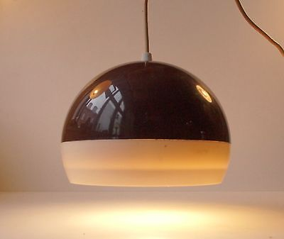 Rare Bent Karlby Globe pendant ceiling lamp danish modern space age 1970s ASK