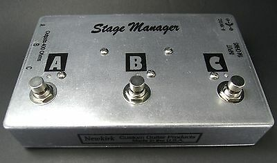Stage Manager - Active guitar splitter ABC switch electric guitar and bass pedal