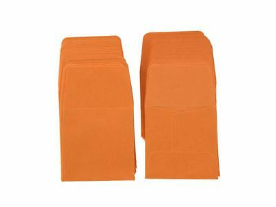 Guardhouse Orange Archival Paper Coin Envelopes, 2x2, 100 pack