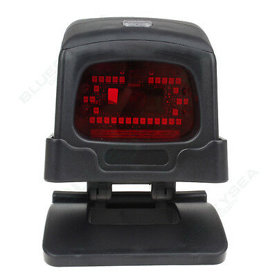 AU! Automatic USB 2D QR Barcode Code Scanner Reader for POS EPOS + Holder Stand