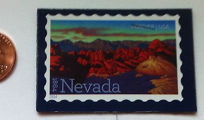 USPS STAMP display magnet (NEVADA)