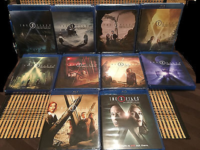 The X-Files: Seasons 1-10 Collection(57-Disc Blu-ray, 2016)Includes Event Series