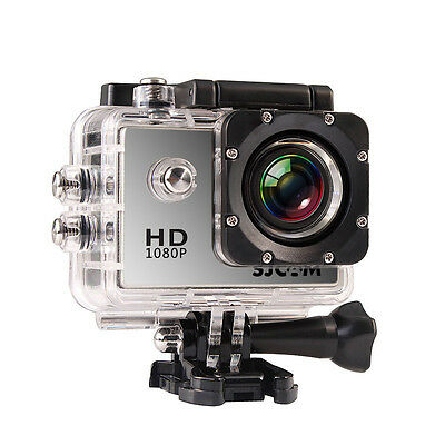 Original SJCAM SJ4000 Full HD 1080P 12MP Waterproof Mini Sports DV Camera Silver