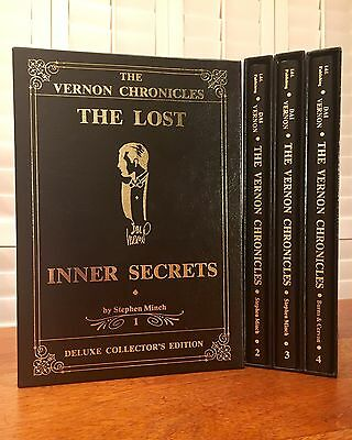 """Dai Vernon, """"The Vernon Chronicles,"""" Limited, Signed & Inscribed, 4 Volumes"""