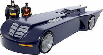 Batmobile from the Animated Series with Mini Bendable Batman Robin Figures
