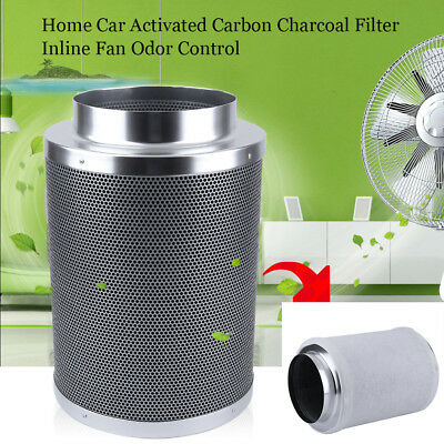"4"" 6"" 8"" 10""  Carbon Filter Charcoal Inline Fan Odor Control Scrubber for plant"