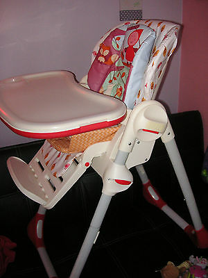 Chaise haute Polly 2 en 1 Happy Land - Chicco