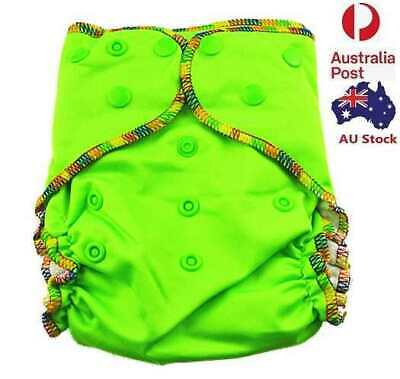 Baby Boyish Green Cloth Nappy Top Quality Modern Cloth Nappies With Free Liners