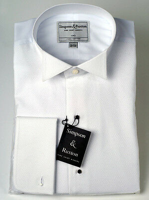 Simpson & Ruxton Marcella Dress Shirt Wing Collar
