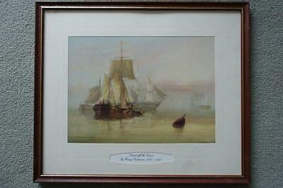 Beautiful Henry Redmore Framed Print - Sunset off the Coast