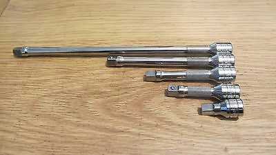 "SNAP ON,5-PIECE  3/8"" Drive  Knurled Friction Ball Extension SET"