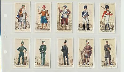 """Uniforms of the Territorial Army""  50 card set by John Player"