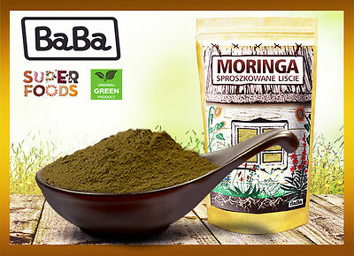 Moringa Powder Oleifera Pure Raw Leaf from India 100 g Economic bag and Deliver