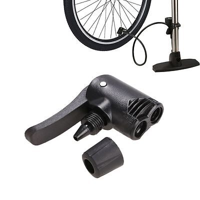 Replacement Bicycle Tyre Tube Track Pump Dual Head Valve Adaptor Foot Hose Spare
