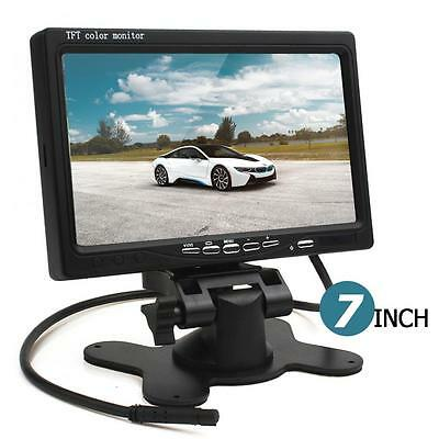 7Inch Car HD 800 x 480 Color TFT LCD RearView Monitor with HDMI VGA Interface