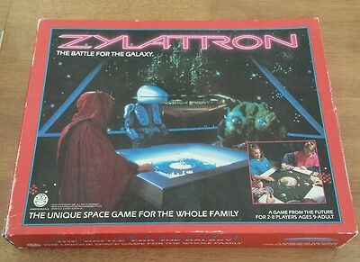 Vintage rare 1980s game ZYLATRON THE BATTLE OF THE GALAXY CROWN ANDREWS