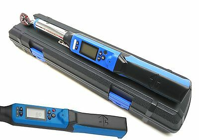 "Digital Torque Wrench 1/2"" dr 40 - 200nm 10 x Preset Adjustable lb-ft lb-in kgm"