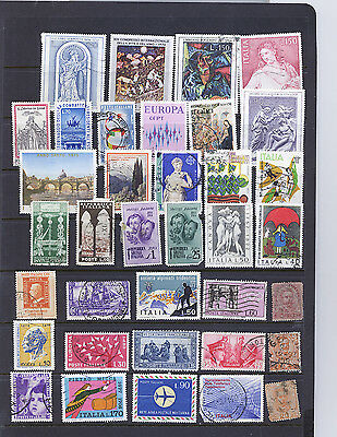 Italy  Small Collection Of Stamps  Pack 8Lg