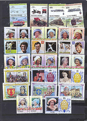 Tuvalu  Small Collection Of Stamps 23Lg