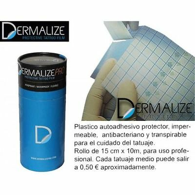 Dermalize Retail y Pro Roll - Curacion Tatuaje After Care Tattoo Film