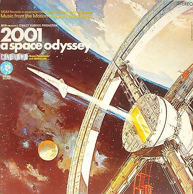 2001 A Space Odyssey - Lp 1990 Spain
