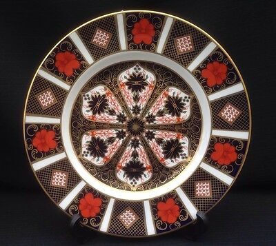 "Royal Crown Derby 'Imari 1128' - 8.5"" Side Plate - 1st Quality"