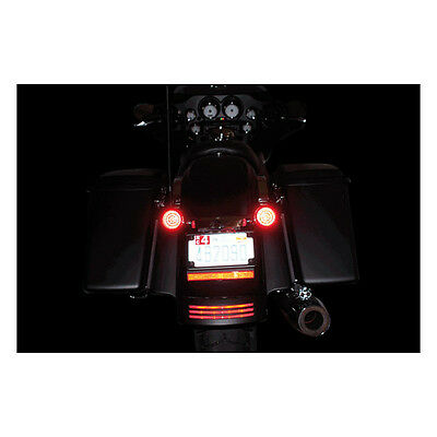 CUSTOM DYNAMICS - LED de clignotants Tri-fonction Harley Davidson culot 2 plots