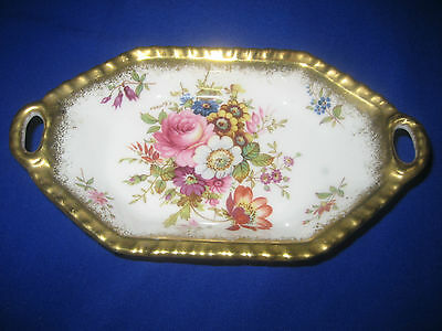 "Vintage Hammersley ""Lady Patricia "" Signed by F.Howard Trinket  / Pin Dish"