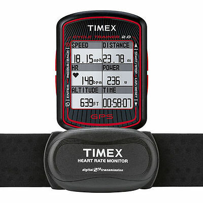 Timex T5K615 GPS Bike Computer - Speed, Distance, and Heart Rate - Sealed