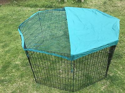 New 6 Panel Pet Dog Playpen Exercise Cage Puppy Crate Enclosure Cat Rabbit Fence
