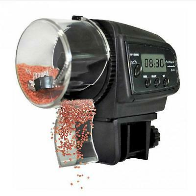 BW Automatic Fish Feeder with LCD Display (Anti-Jam Design)Automatic Fish Feeder