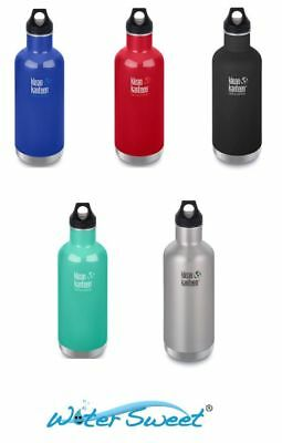 Klean Kanteen 32 oz 946 ml Vacuum Classic Insulated  Stainless Steel Bottle